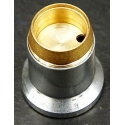 Reflector Aluminio 23x23mm para Led CREE