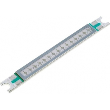 Barra COB Led 4-12w lineal 48mm green