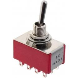 Interruptor de palanca de 4 circuitos