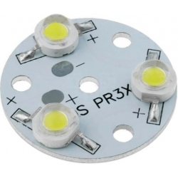 Modulo 3 led 1w de 31mm