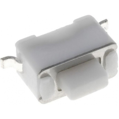 Tact Switch SMD 6x3.5x3.5mm Blanco 1mm