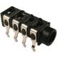 Conector Jack 3.5mm Hembra pcb 4pin