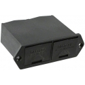 Porta Baterías 2x9v Dobles con Tapa