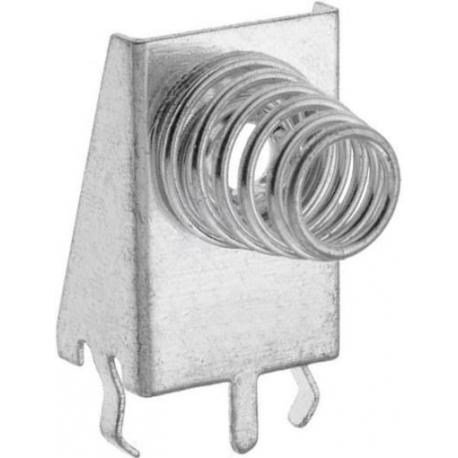 Clip Portapilas-Baterías muelle