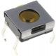 Pulsador Tact Switch de 6.2x6.3x3.1mm extraplano