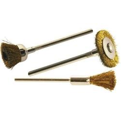 Cepillos de pulir para mini taladros