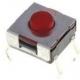 Tact Switch de 6.2x6.3x3.1mm rojo