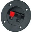 Conector redondo de panel de altavoz o alimentación
