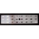 Circuito Impreso para 24 Led CREE-Lumiled- 232x54x2mm