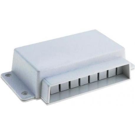 Caja de montaje de ABS para conectores externos