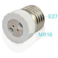 Adaptador de Lámparas MR16-E27