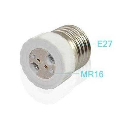Adaptador de Lámparas MR16-E27