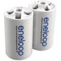 Adaptador Batería o Pila 1-AA/R6 a 1 LR20
