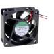 Ventilador refrigeración de 24v. 60x60x25mm 26Db