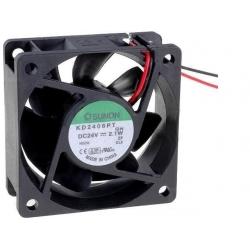 Ventilador refrigeración de 60x60x25mm 24v