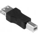 Adaptador USB-A Hembra-USB B Macho