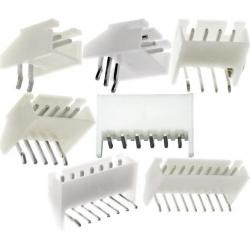 Conectores JST XH Acodado PCB paso 2.50mm