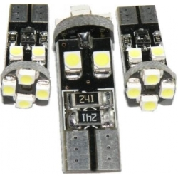 Bombilla LED T10 Canbus 8 Led 3528 SMD 12v