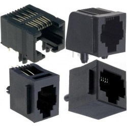 Conectores RJ45 Hembras PCB