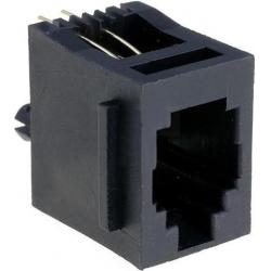 Conectores Clip RJ9 Hembra Recto