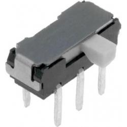 Micro interruptor deslizante acodado 2245 2C-2Pos.