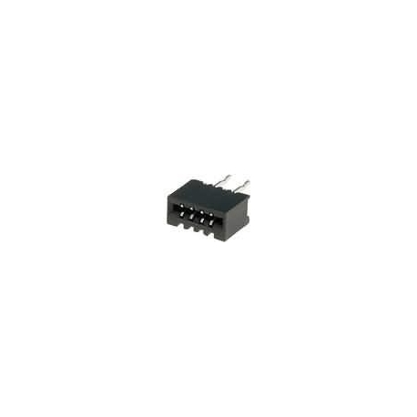 Conector FFC-FPC No ZIF 1mm THT Recto 4pin