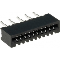 Conector FFC-FPC No ZIF 1mm THT Recto