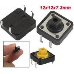 Pulsador Tact Switch de 12x12mm boton