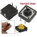 Pulsador Tact Switch de 12x12mm 24k