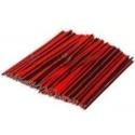 Cable Estañados Paralelos Rojo-Negro AWG22 2X0.50x100mm