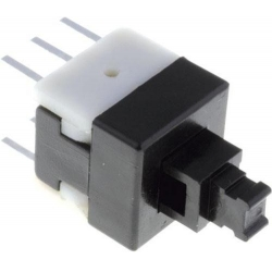 Interruptor de pulsador On-Off 2c/2pos.8X8X8MM