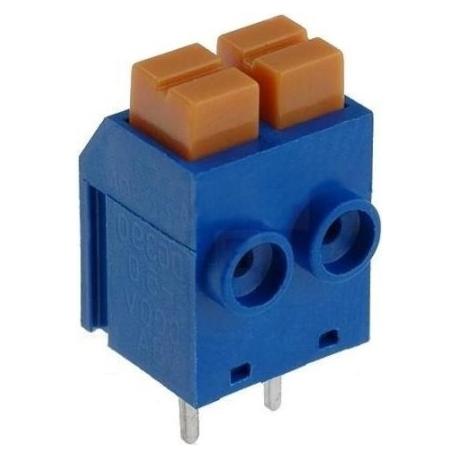Bornas circuito impreso presion 2pin DG390 5mm
