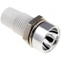 Soporte Mirilla Cromada para Led -5mm