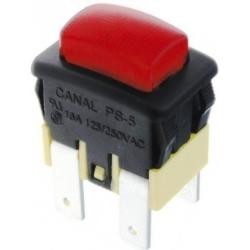 Interruptor de panel de 16A. Neon