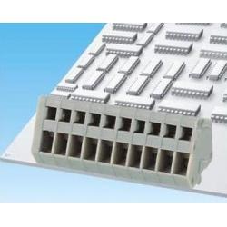 Bornes circuito impreso paso 2.54mm 45º