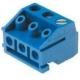 Bornas circuito impreso enchufables DG 5mm