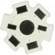 Pcb Star 20mm Blanco