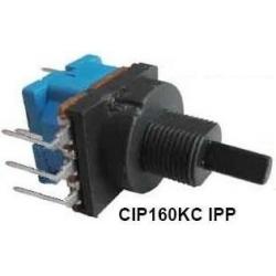 Potenciómetros con interruptor CIP160KCIPP