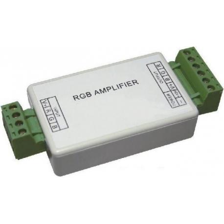 Mini Amplificador PWM 3 canales Led o RGB 12-24v.12A.