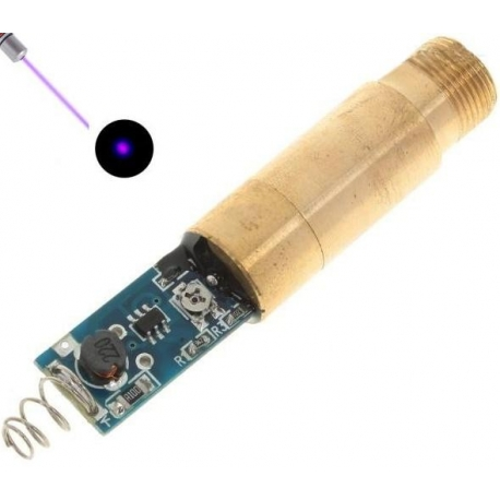 Módulo Led-Láser Purpura 10mw-3v