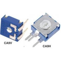 Potenciómetros, Resistencias Ajustables CA9V y CA9H