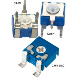Potenciómetros, Resistencias Ajustables CA6V, y CA6H