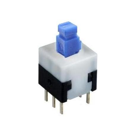 Conmutador/pulsador On-Off 2c/2pos.8X8X8MM