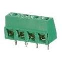 Bornas circuito impreso MSB Verde 10mm recto paso 5mm