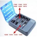 Cargador Soshine S1Mix para 4 Baterías de Litio
