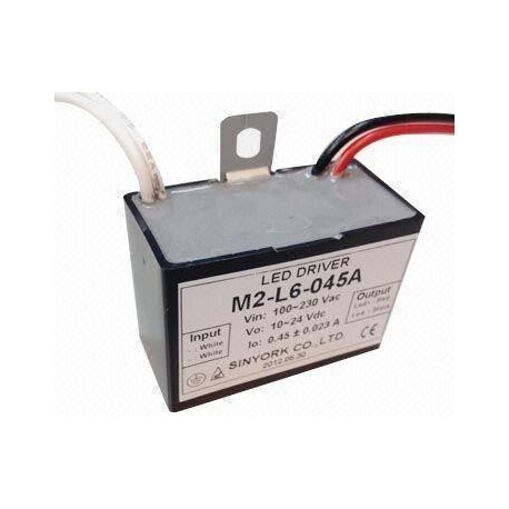 Driver Led M2 IP65 100-230vAC 100-450mA
