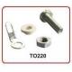 Juego Aisladores para Transistores TO220