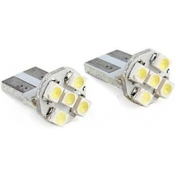 Bombillas T10 5 Led 1210 -12v