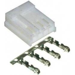 Conector ZZ 4Pin Molex paso 2.54mm