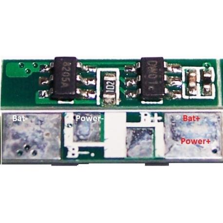 PCM de protección para Células Li-Po de 3.7v.15A34